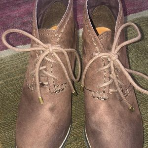 SO Shoes - SO Brown Wedges